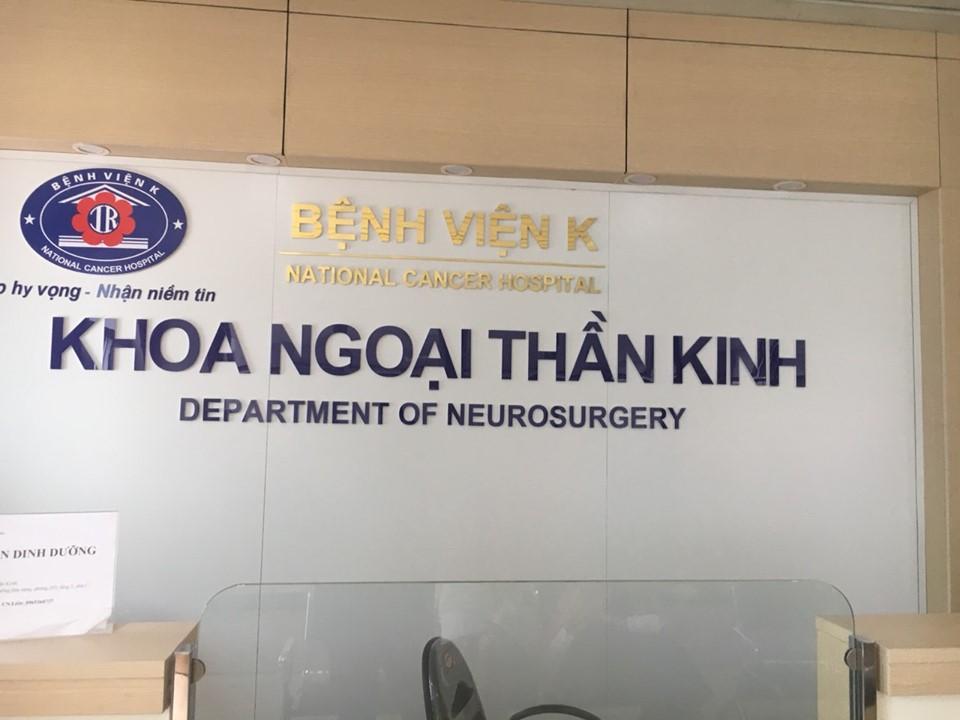 Khoa ngoại thần kinh bệnh viện K