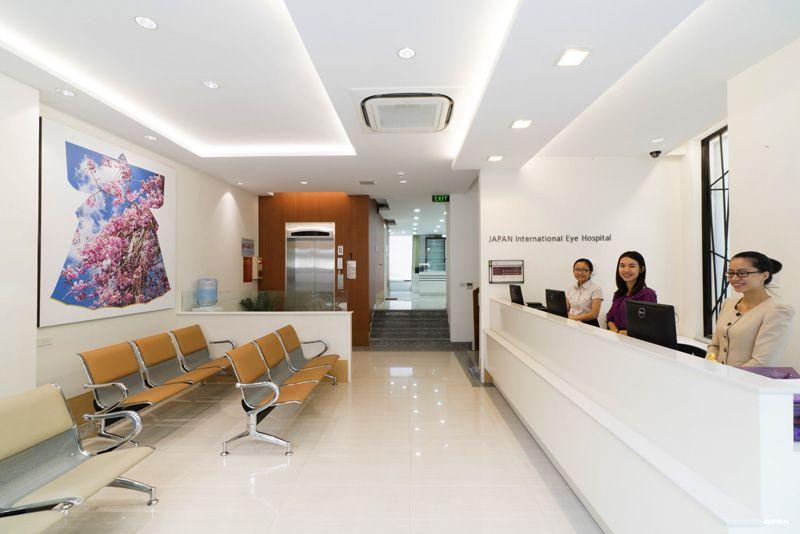 khung cảnh bên trọng Bệnh Viện Mắt Quốc Tế Nhật Bản